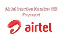 Airtel Inactive Number Bill Payment