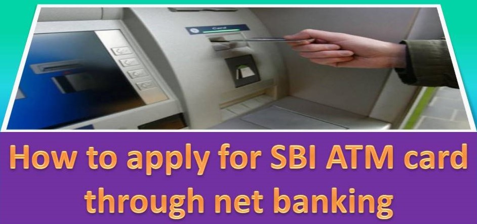 How to apply for SBI ATM card