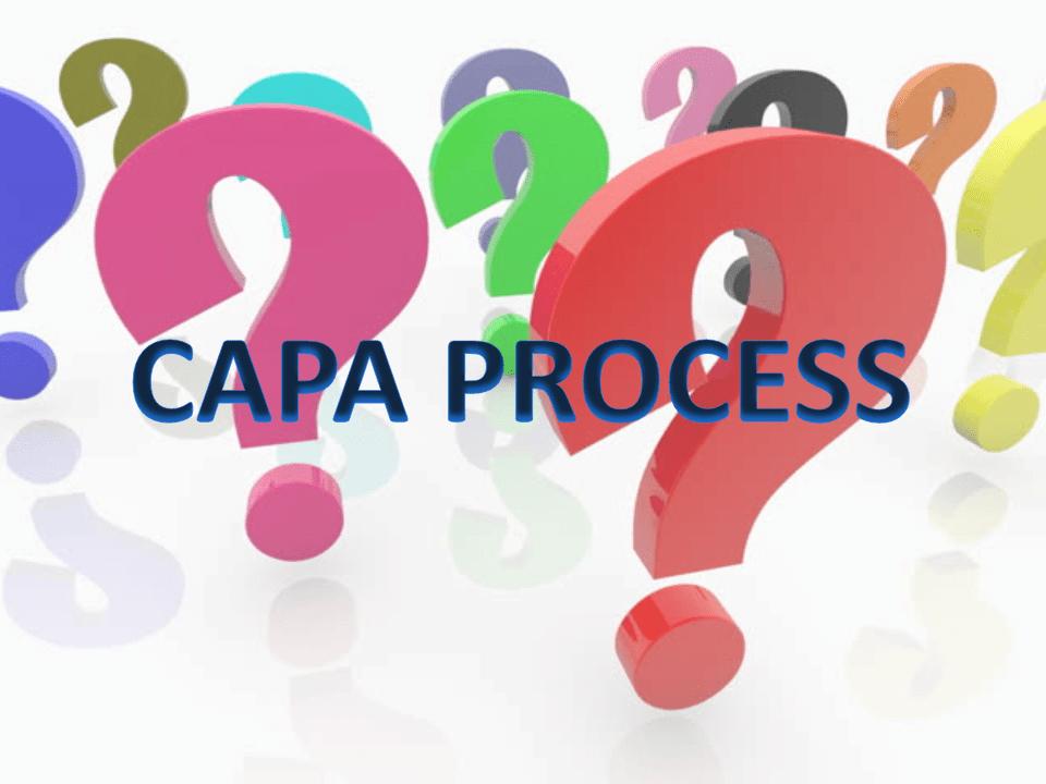 CAPA Process