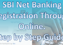 SBI Net Banking Registration Through Online