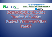 How to Register Mobile Number in Andhra Pradesh Grameena Vikas Bank