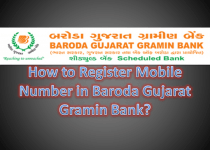 How to Register Mobile Number in Baroda Gujarat Gramin Bank?