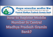 How to Register Mobile Number in Central Madhya Pradesh Gramin Bank Account